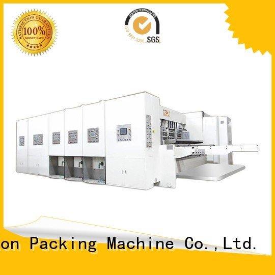 jumbo printing KeShengLong automatic printing slotting die cutting machine
