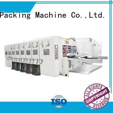 Hot flexo printing and die cutting machine machine slotting printing KeShengLong Brand