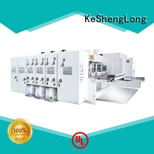 flexo printing and die cutting machine flexo machine automatic six color KeShengLong