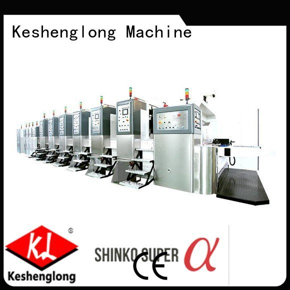 Hot China hd flexo folding flat diecutting KeShengLong Brand