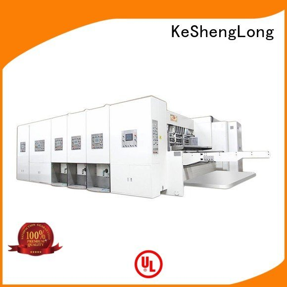 KeShengLong cutting three color six color flexo printing and die cutting machine machine