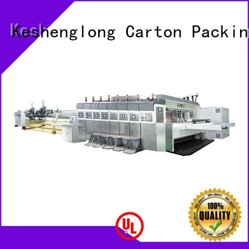 KeShengLong Brand K8-Type goutering HD flexo printer slotter movable K9-Type
