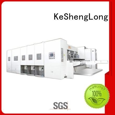 computerized flexo printing and die cutting machine cutting automatic printing slotting die cutting machine KeShengLong Brand s