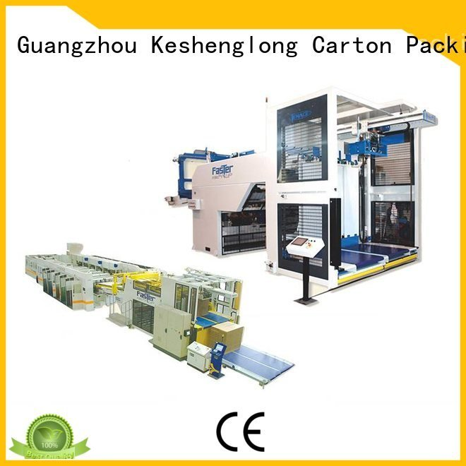 Custom cardboard box printing machine three color four color Auxiliary KeShengLong