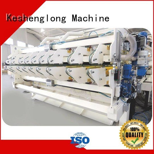 cardboard box printing machine KeShengLong four color cardboard box printing machine