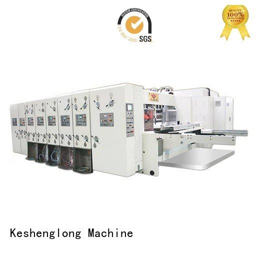 machine flexo flexo printing and die cutting machine KeShengLong