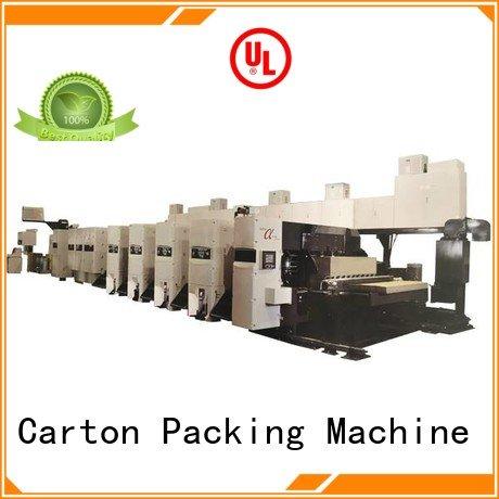 KeShengLong flexo printer slotter inline shinko curled 4 color