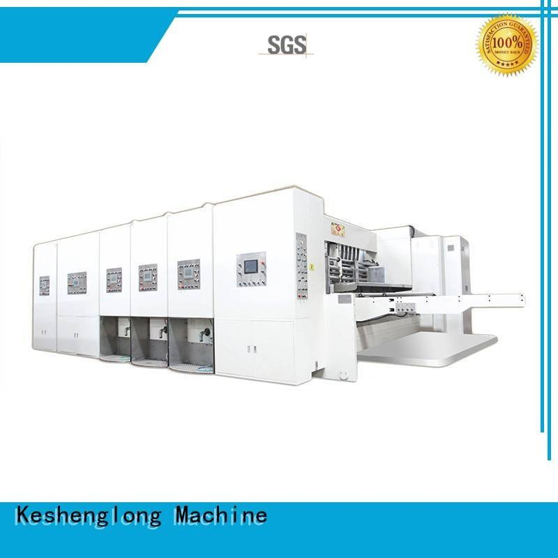 KeShengLong Brand three color flexo printing and die cutting machine die six color
