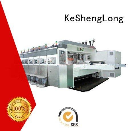 KeShengLong folding HD flexo printer slotter cutting computerized