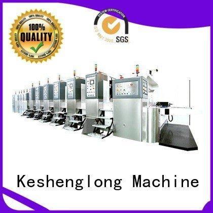 KeShengLong HD flexo printer slotter gluing die goutering computerized