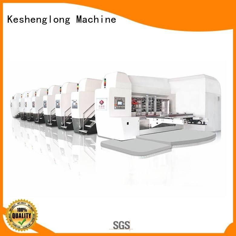 automatic goutering KeShengLong HD flexo printer slotter