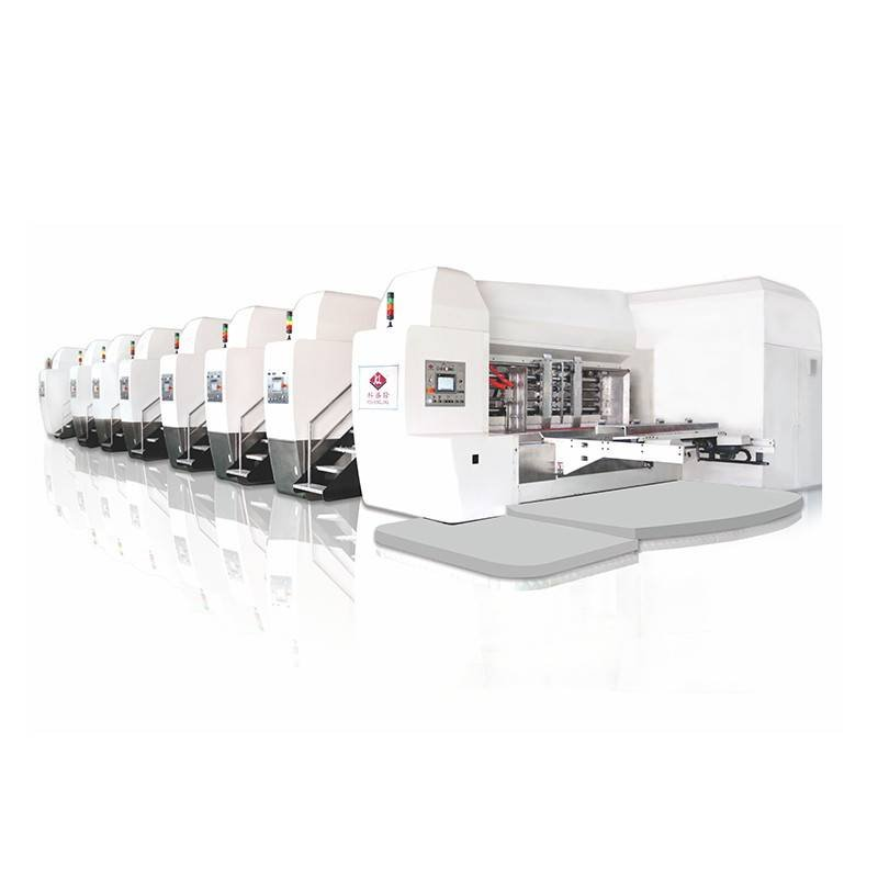 K9-Type Fixed Servo Control Automatic Printing Die-cutting Machine