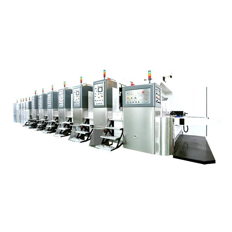 K8-Type Fixed Automatic Printing Slotting Die-cutting Machine