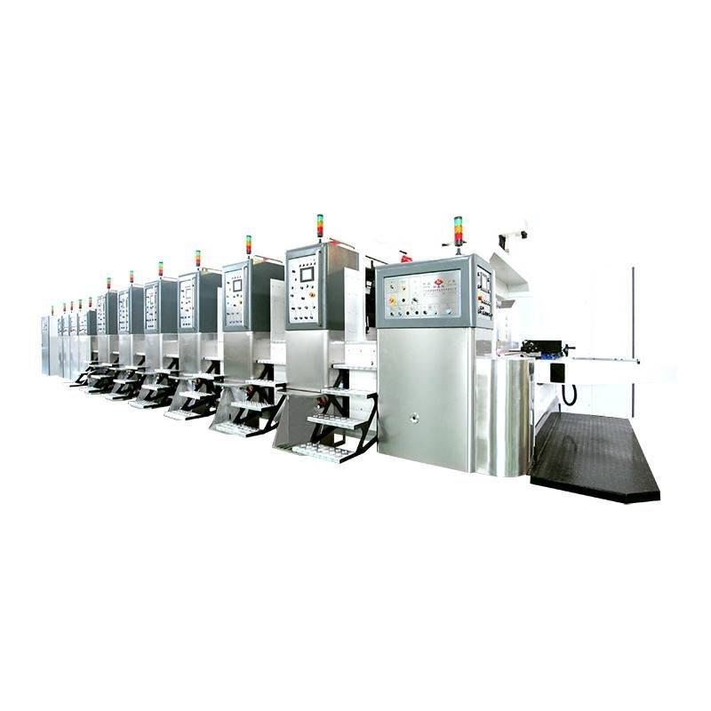 K8-Type Fixed Automatic Printing Slotting Die-cutting Machine