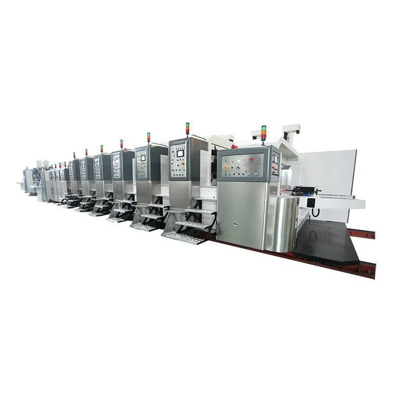 KL - Computerized Printing Die-cutting In-line Folding Gluing Goutering Ejecting Machine (Fixed Structure)