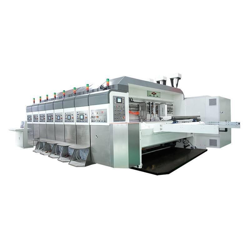 K7 / K7io - Computerized Flexo Printing Slotting Die Cutting Machine ( Bottom Printing and Top&Bottom Printing )