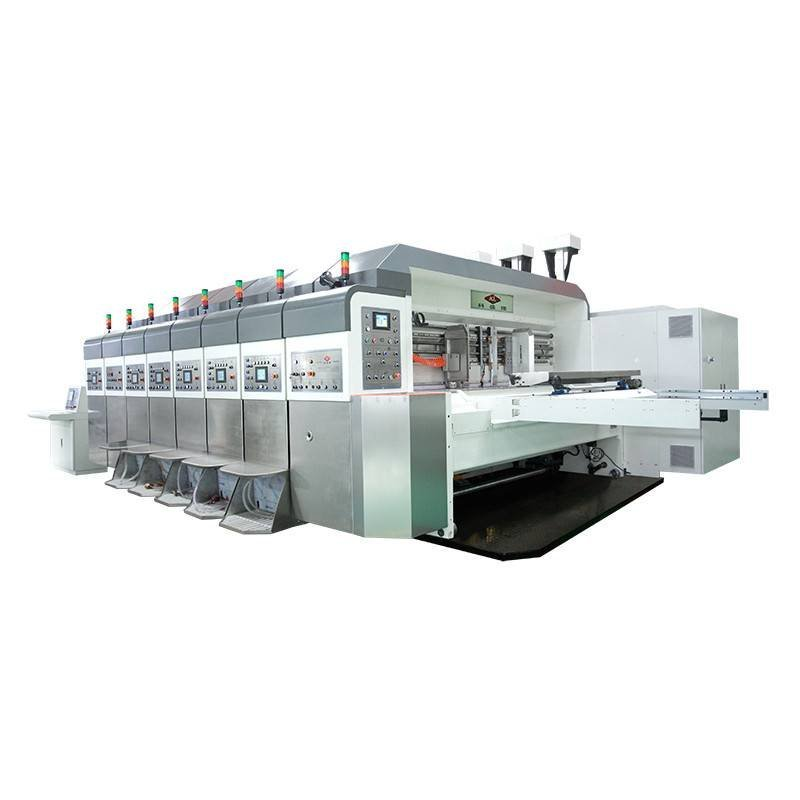 K7 / K7io - Computerized Flexo Printing Slotting Die Cutting Machine ( Bottom Printing and Top&Bottom Printing )