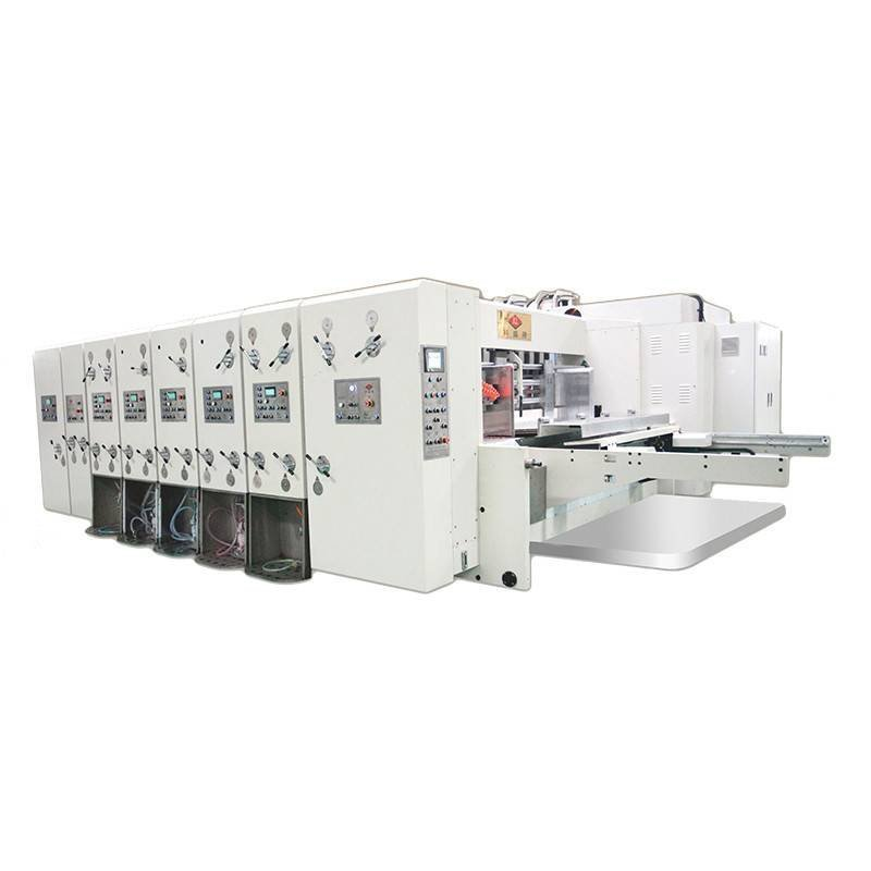 K4 - Computerized Flexo Printing Slotting Die Cutting Machine