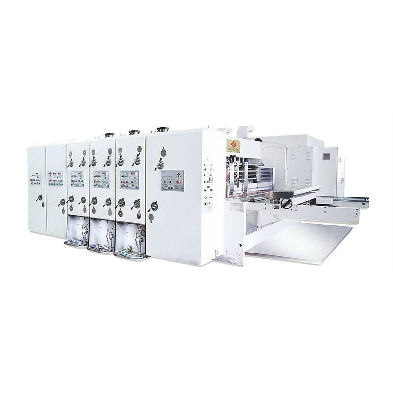 K3 - Automatic Flexo Printing Slotting Die Cutting Machine