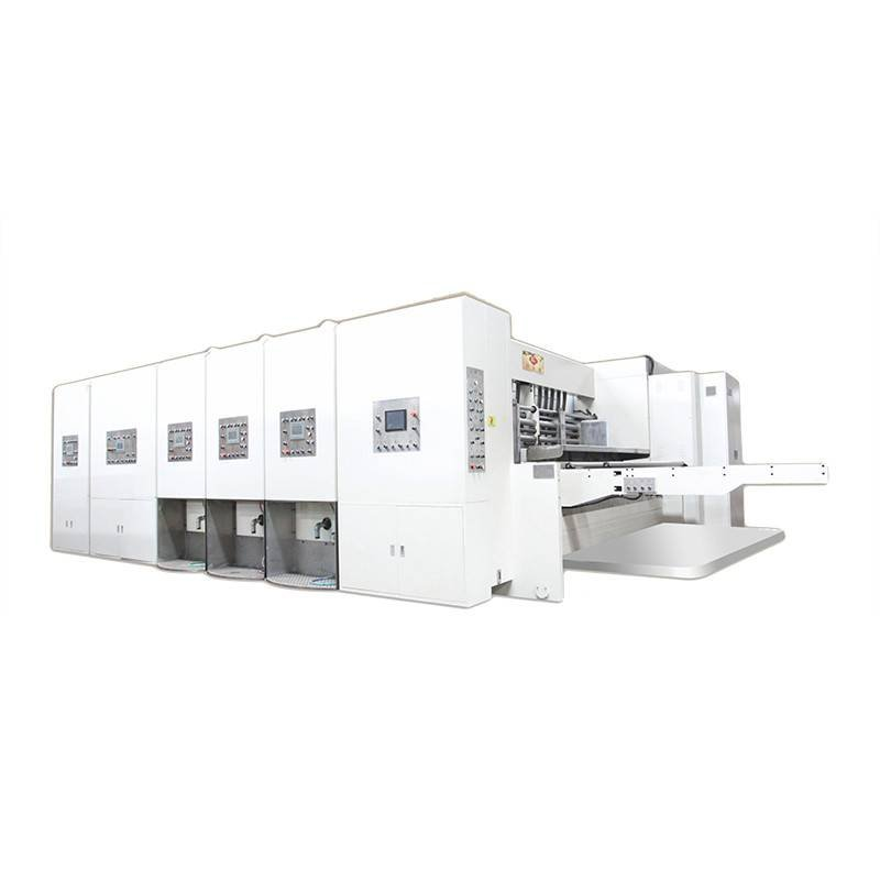 K1 - Computerized Flexo Printing Slotting Die Cutting Machine (JUMBO)