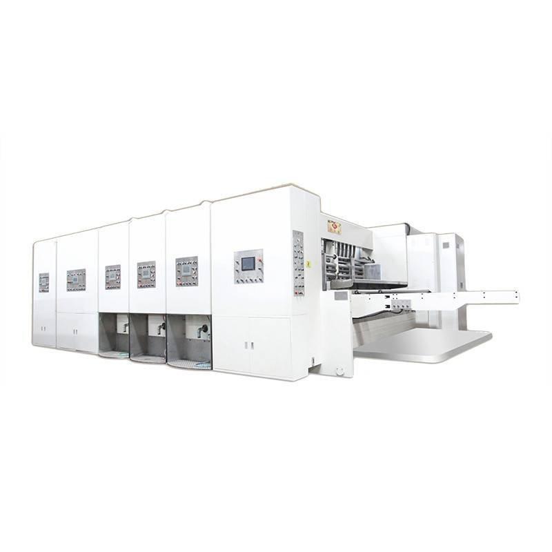K1 - Computerized Flexo Printing Slotting Die Cutting Machine (JUMBO)