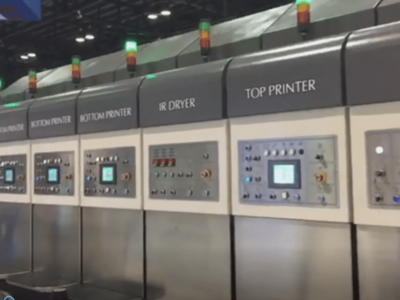 Custom Review -computerized flexo printing slotting die cutting machines Show in Corrugated exhibition