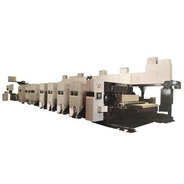 SHINKO  Printer Slotter Die-Cutter In-line Folder Gluer Machine