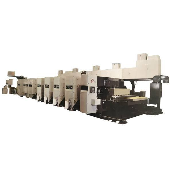 SHINKO  Printer Slotter Die-Cutter In-line Folder Gluer Machine