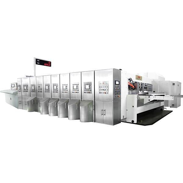 K6 - Type Computerized Flexo Printing Slotting Die-cutting Machine (Top Printing)