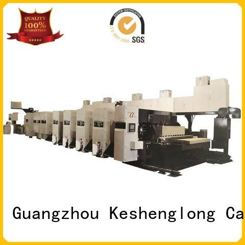 flexo printer slotter 4 color flexo printer slotter machine China KeShengLong