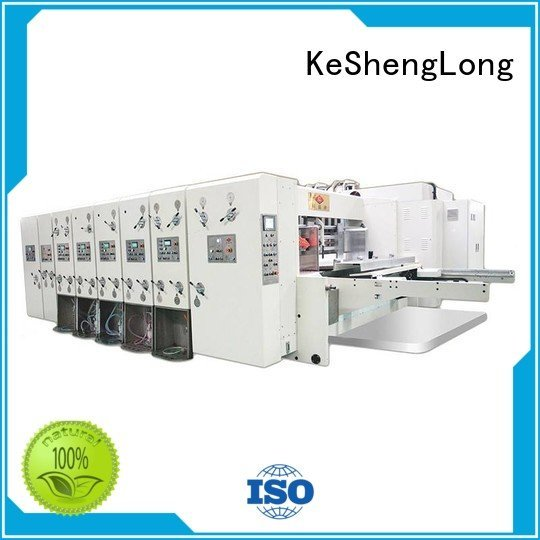 automatic six color machine cutting KeShengLong automatic printing slotting die cutting machine