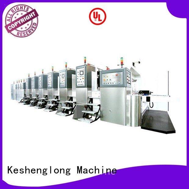 China hd flexo control ejecting HD flexo printer slotter KeShengLong Warranty