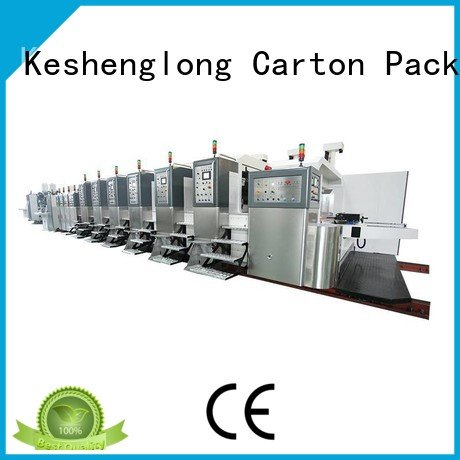 China hd flexo computerized structure HD flexo printer slotter KeShengLong Warranty