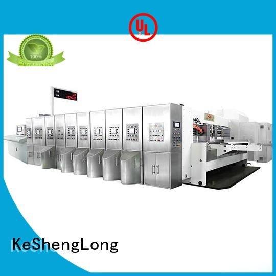 Hot China hd flexo structure HD flexo printer slotter inline KeShengLong