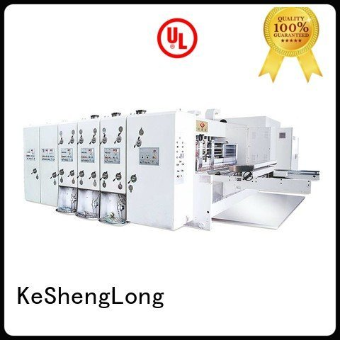 flexo automatic printing slotting die cutting machine jumbo six color KeShengLong