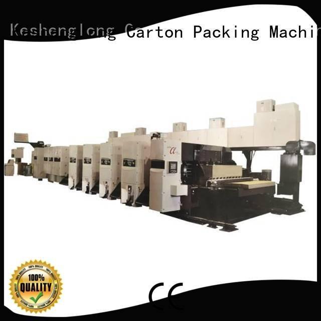 flexo printer slotter curled cardboard shinko KeShengLong
