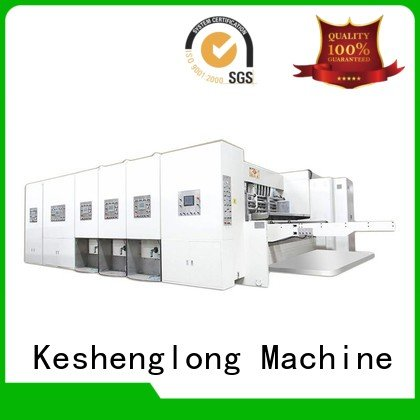 KeShengLong flexo printing and die cutting machine three color die four color