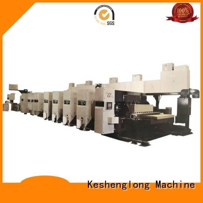 KeShengLong flexo printer slotter corrugated China inline