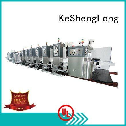 China hd flexo inline die HD flexo printer slotter KeShengLong Warranty