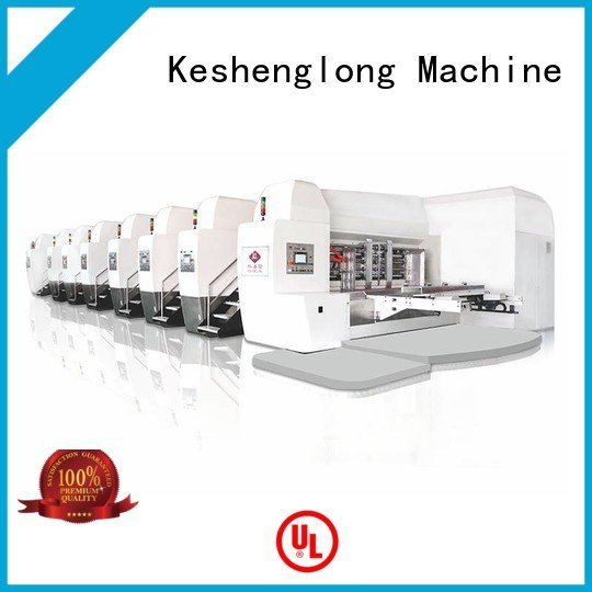 China hd flexo cutting gluing HD flexo printer slotter KeShengLong Warranty