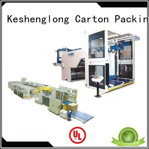 cardboard box printing machine six color PFA OEM cardboard box printing machine KeShengLong