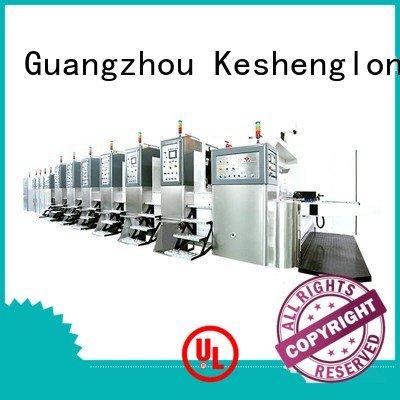 KeShengLong China hd flexo control structure cutting flat
