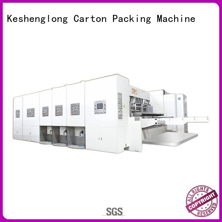 flexo printing and die cutting machine die cutting flexo KeShengLong Brand
