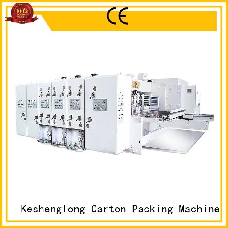 computerized automatic machine slotting KeShengLong automatic printing slotting die cutting machine