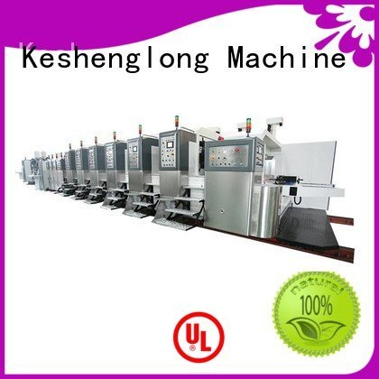 China hd flexo slotting HD flexo printer slotter computerized KeShengLong