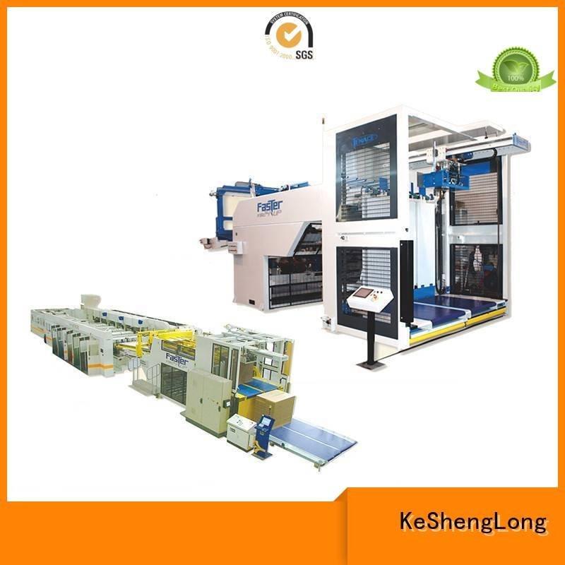 KeShengLong Brand four color six color cardboard box printing machine Top PFA