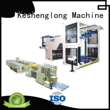 Top PFA three color cardboard box printing machine six color KeShengLong Brand cardboard box printing machine Auxiliary