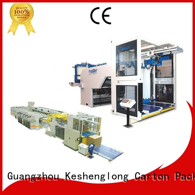 KeShengLong three color Auxiliary PFA cardboard box printing machine six color