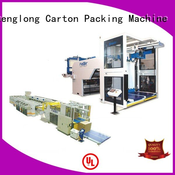 Custom cardboard box printing machine Auxiliary three color PFA KeShengLong