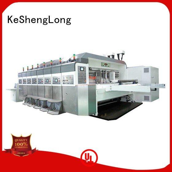 control HD flexo printer slotter fixed movable KeShengLong